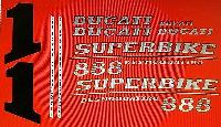 DUCATI 888 MODEL SP5 PAINTWORK DECAL KIT segunda mano  Embacar hacia Spain