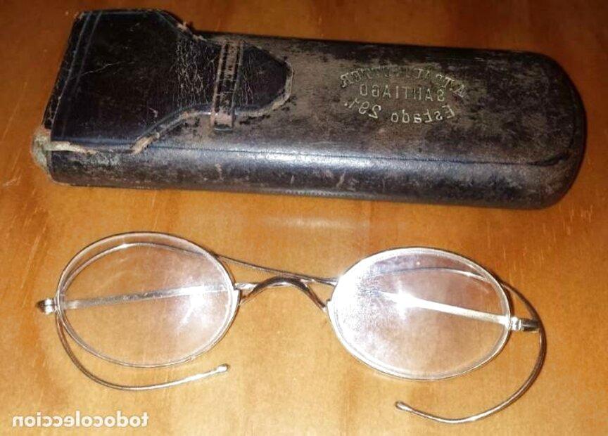 gafas antiguas oro de segunda mano