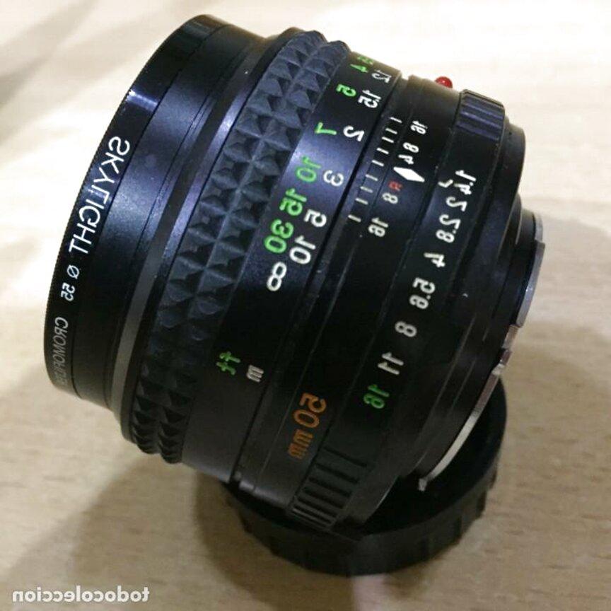 objetivo 50mm minolta de segunda mano