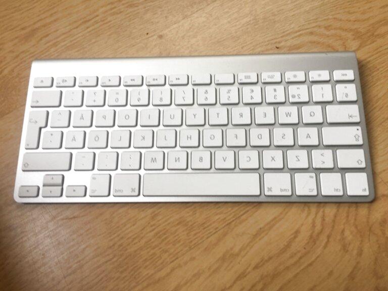 teclado inalambrico apple de segunda mano