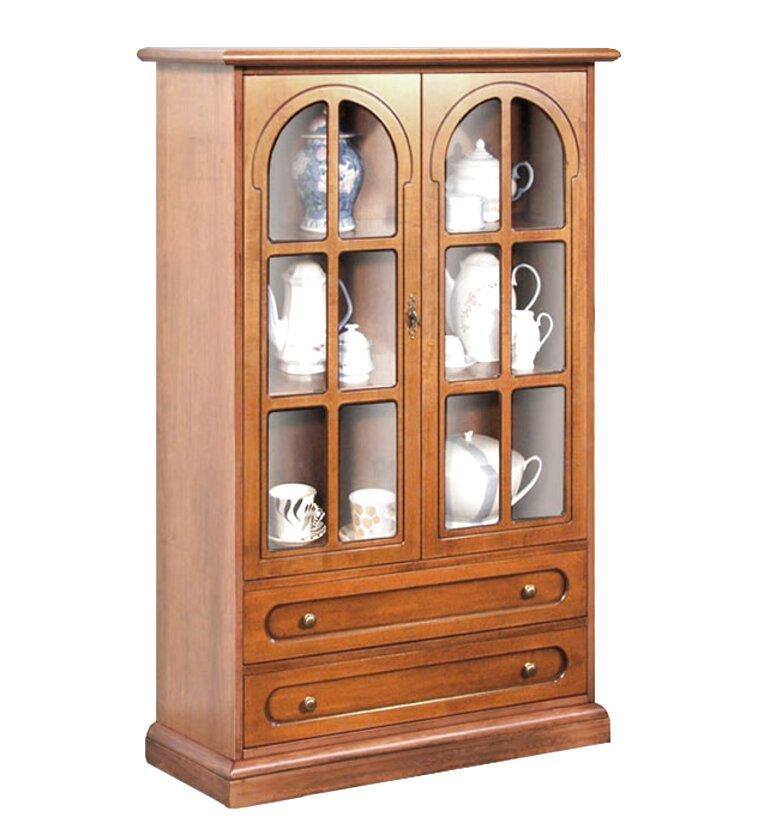 mueble vitrina madera de segunda mano