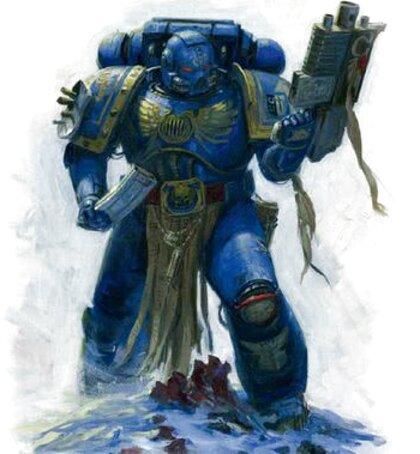 warhammer 40k ultramarines de segunda mano