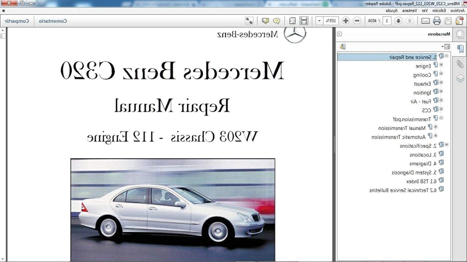 HLY/_Autoparts Cubierta del Parasol para Mercedes W203