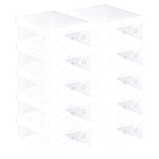 cajas zapatos transparentes de segunda mano