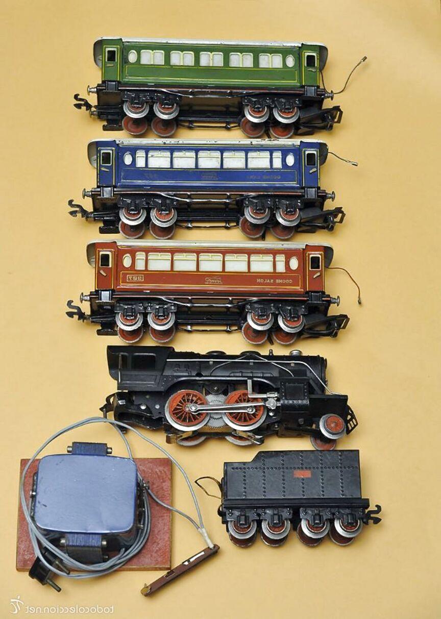 trenes escala 0 de segunda mano