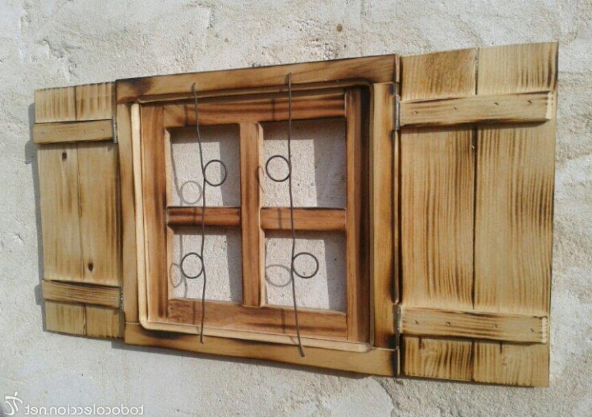 ventana madera de segunda mano