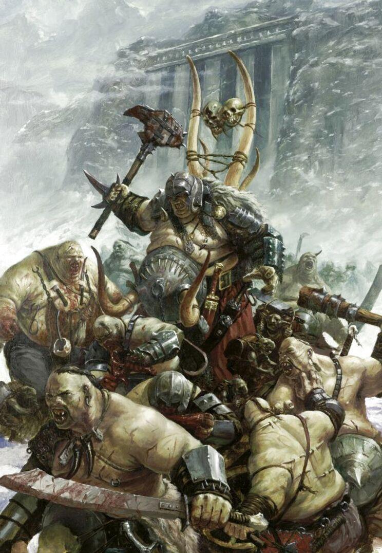 reinos ogros warhammer de segunda mano