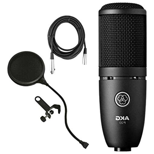 microfono akg perception de segunda mano