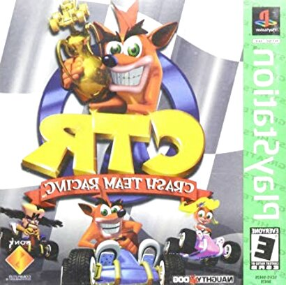 crash team racing ps1 de segunda mano