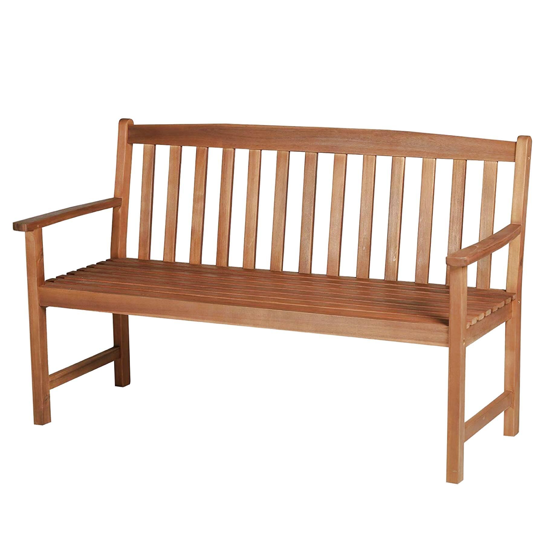 banco jardin madera de segunda mano