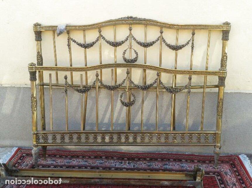 cabecero antiguo cama 150 cm de segunda mano