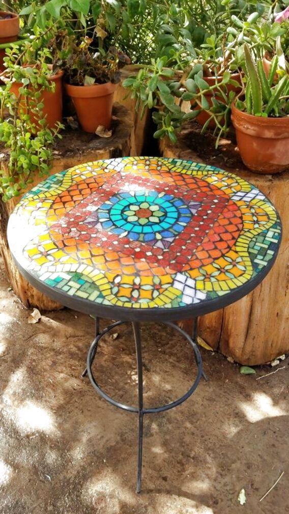 Mesa Jardin Mosaico De Segunda Mano Solo Quedan 2 Al 70