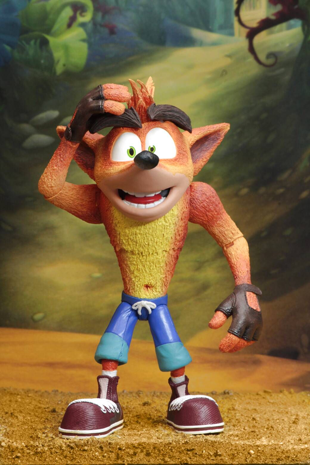 crash bandicoot figure de segunda mano