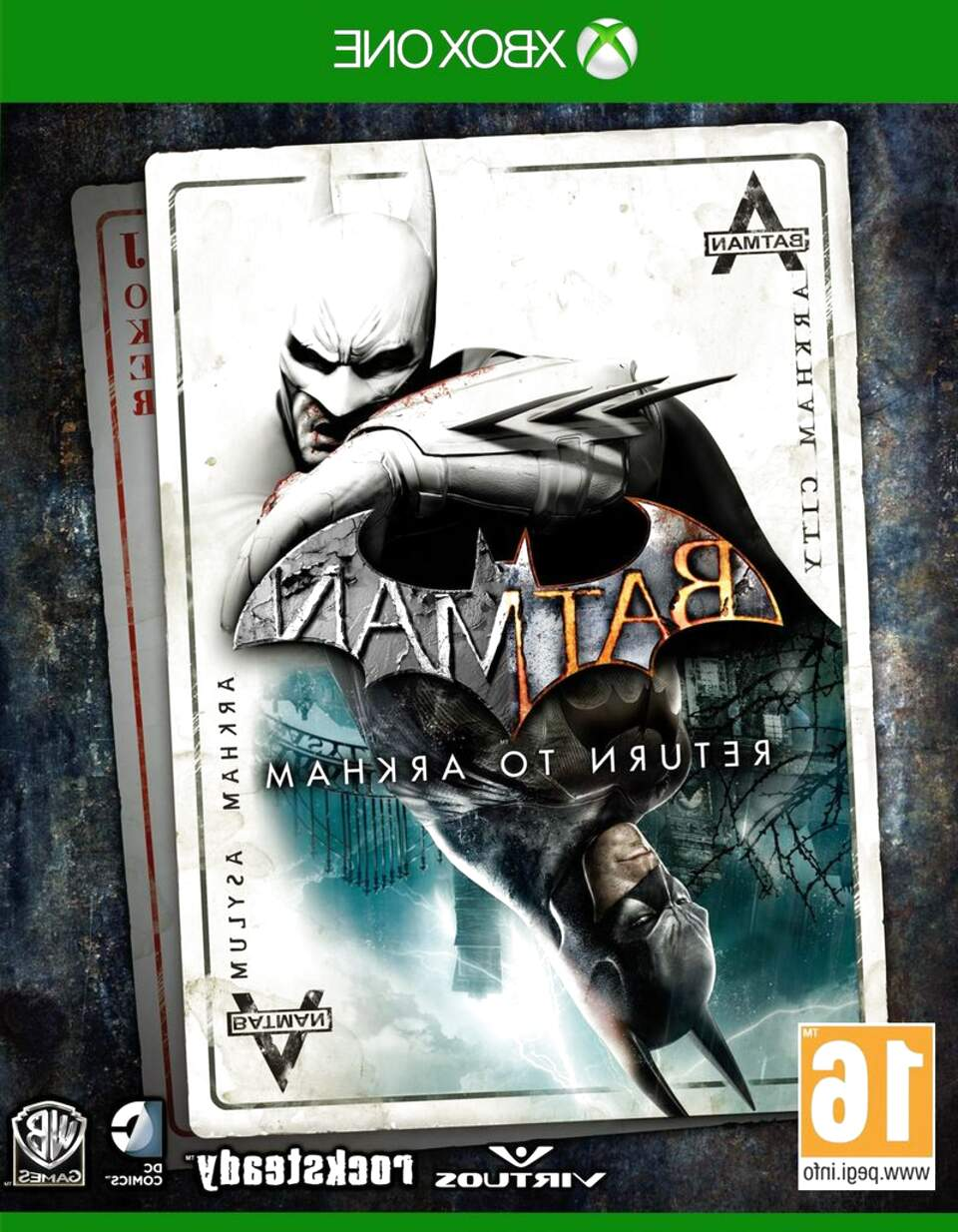batman return to arkham de segunda mano