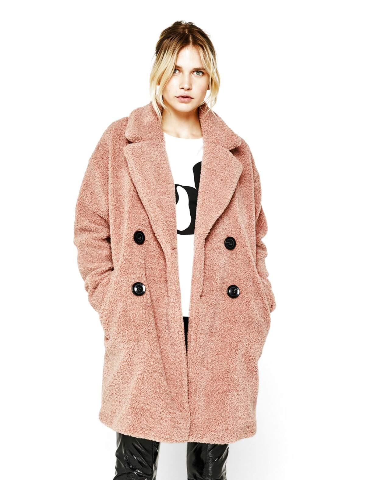 bershka abrigo de segunda mano