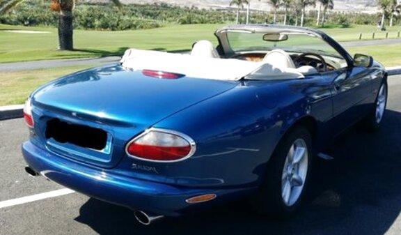 jaguar xk cabrio de segunda mano