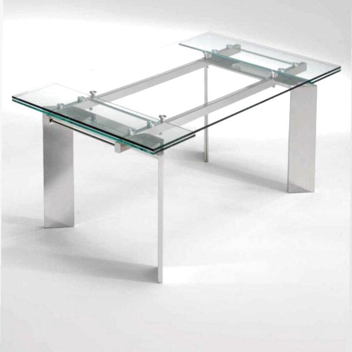 mesa extensible acero de segunda mano