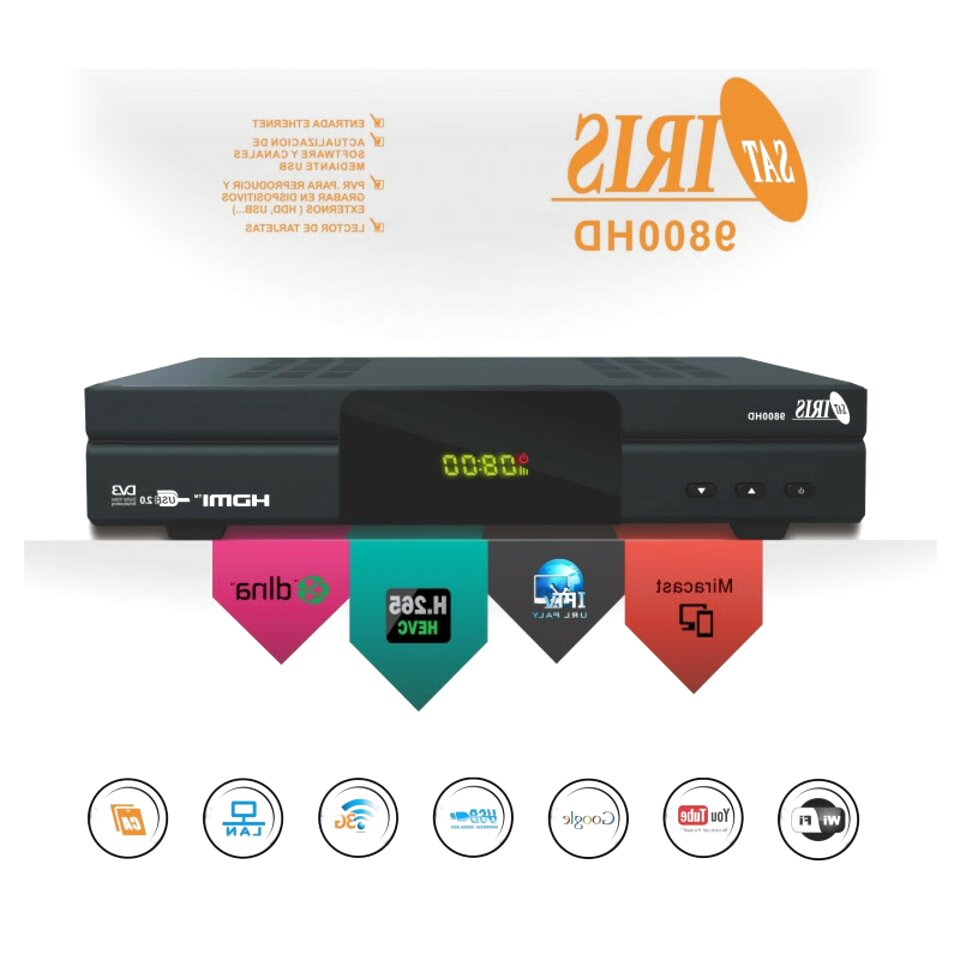 descargar firmware para el receptor iris 9800 hd