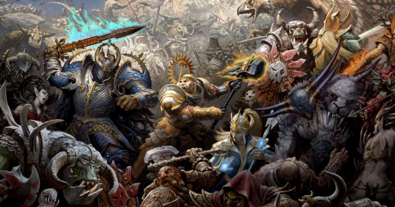 warhammer fantasy de segunda mano