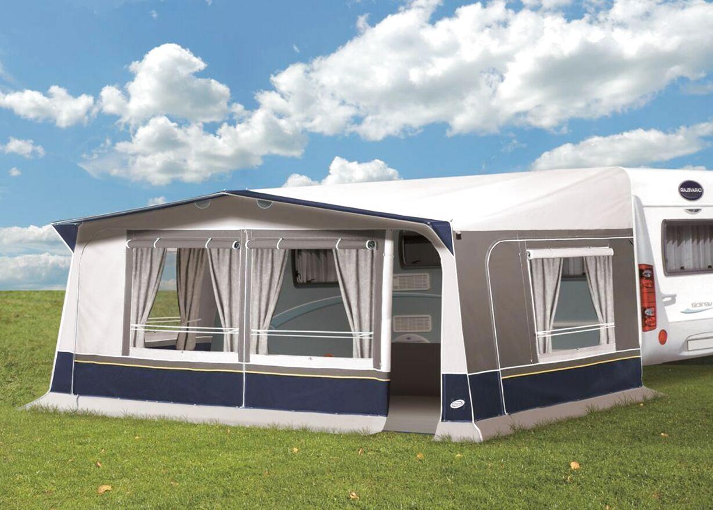 550 x 60 cm toldo para lluvias Eurotrail color gris Fald/ón universal para caravana