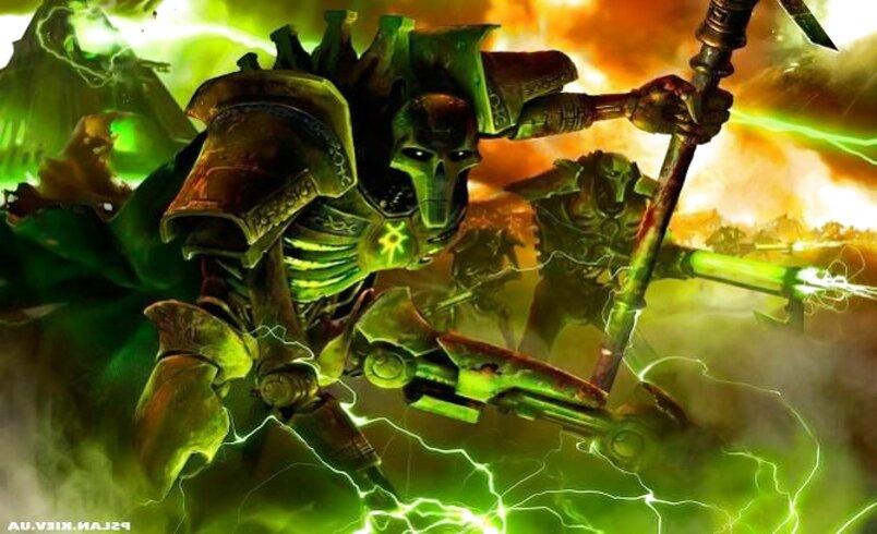 warhammer 40000 necrones de segunda mano