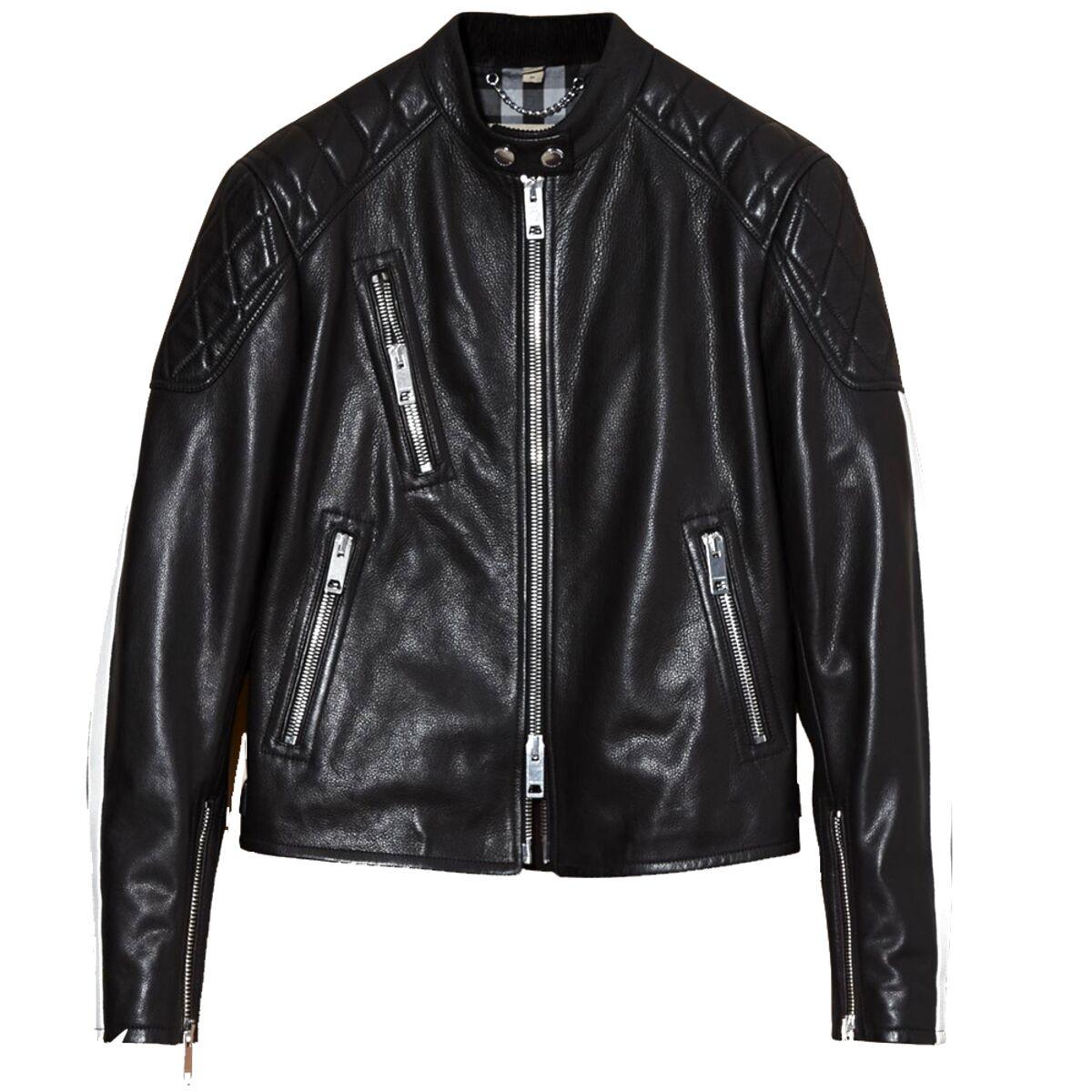 leather jacket de segunda mano