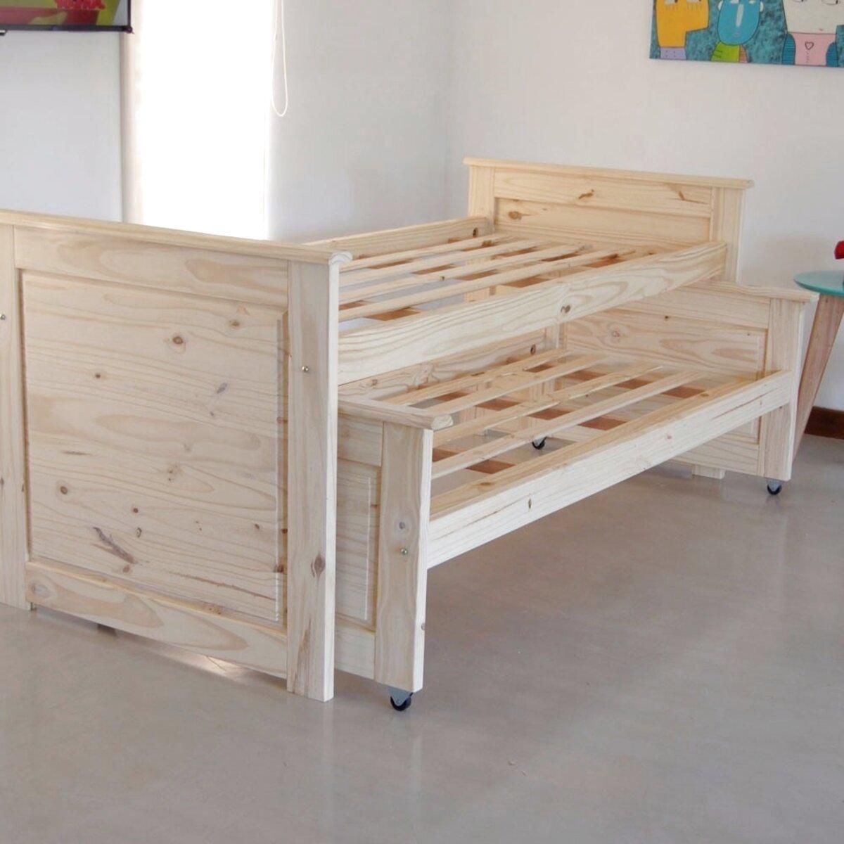 cama nido madera pino de segunda mano