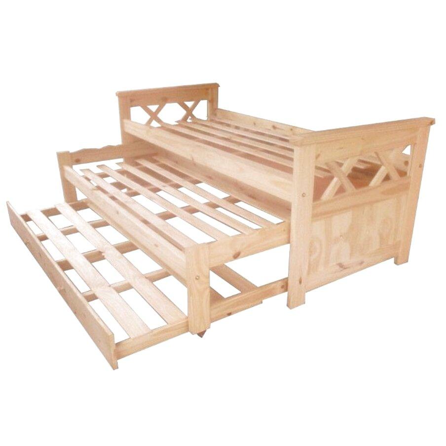 cama nido pino macizo de segunda mano