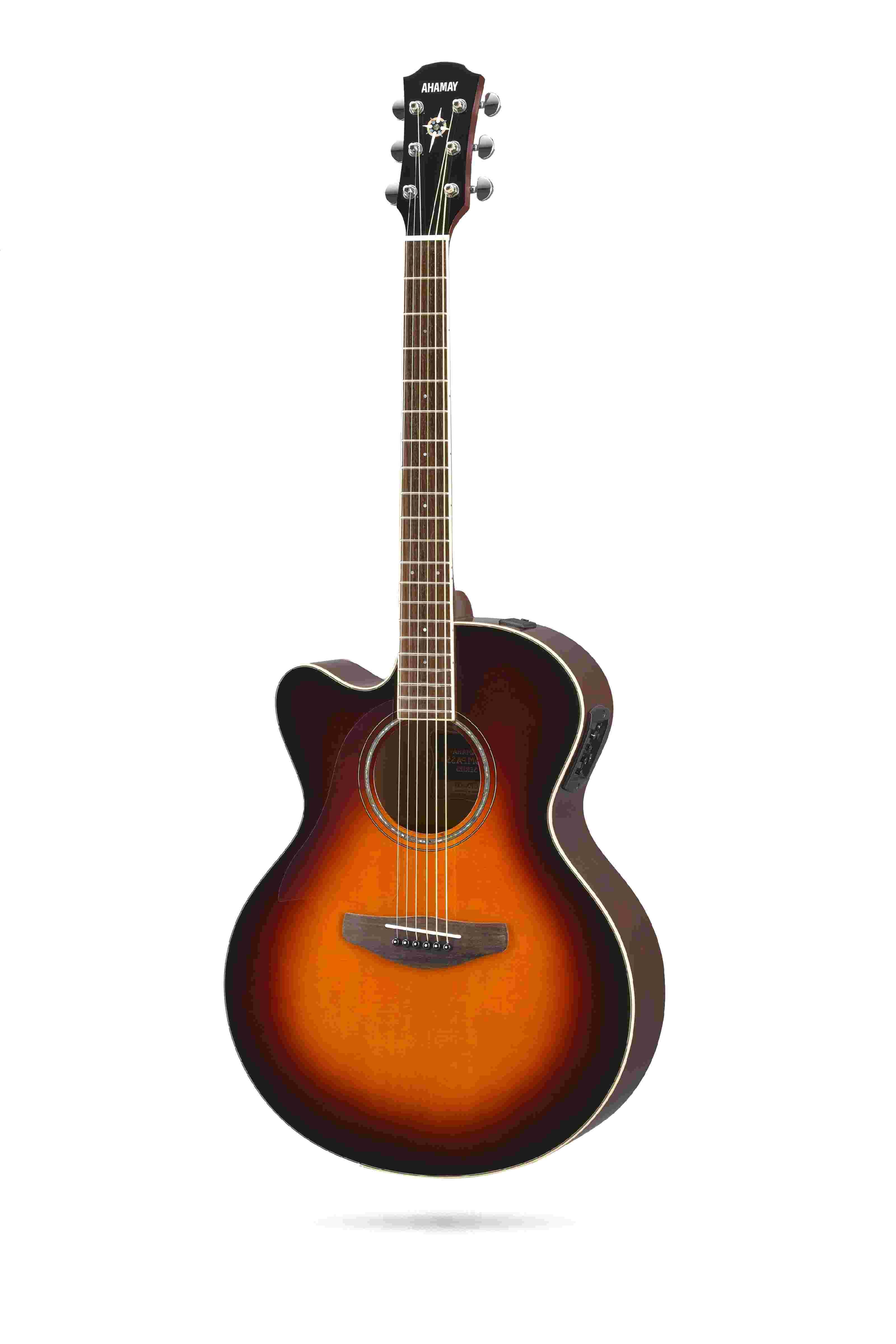 guitarra electroacustica yamaha de segunda mano