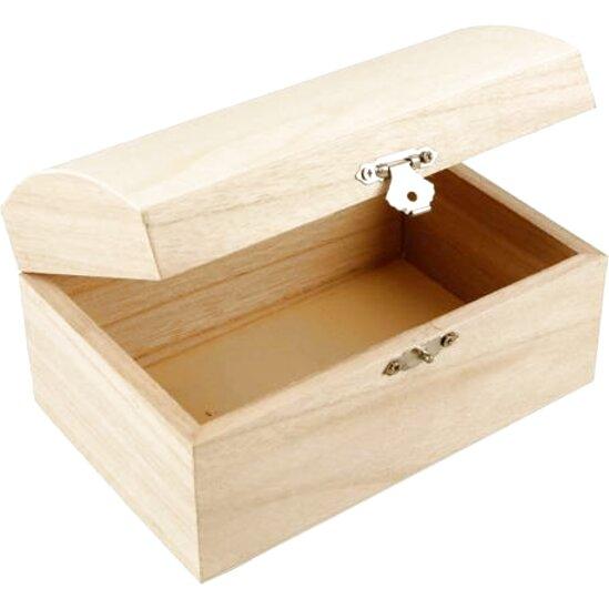 cofre madera madera de segunda mano