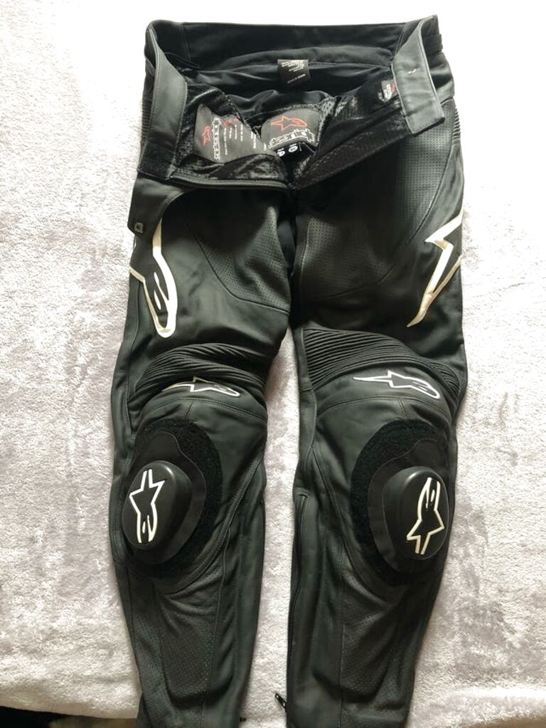 Pantalon Alpinestar Cuero De Segunda Mano Solo 2 Al 60