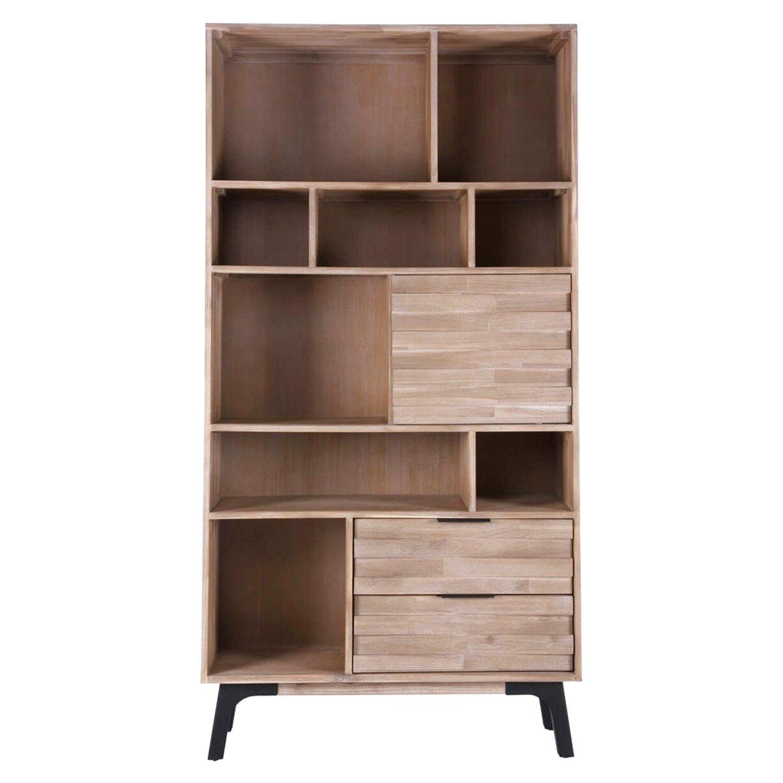 libreria madera de segunda mano