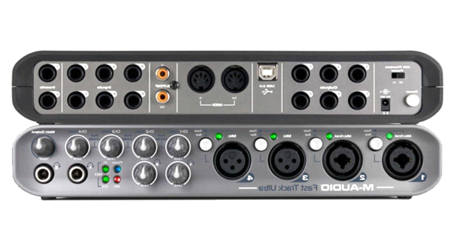audio fast track ultra de segunda mano
