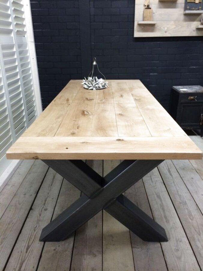mesa rustica comedor de segunda mano