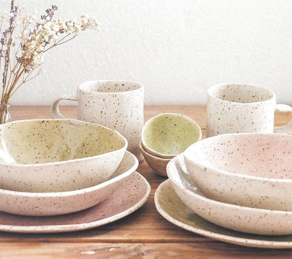 vajilla ceramica de segunda mano
