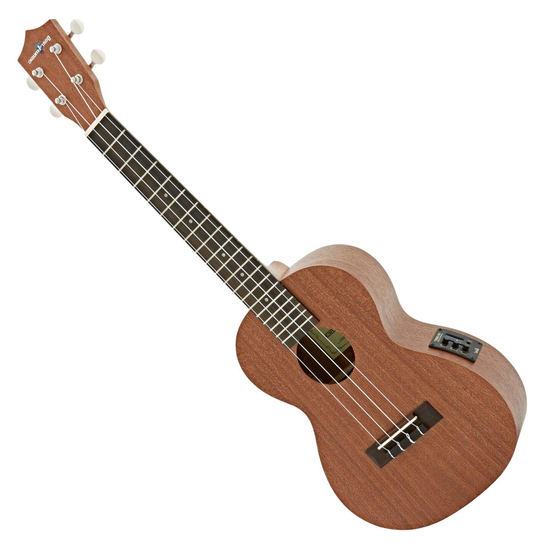 REFURBISHHOUSE Ukelele de 26 Pulgadas Okoume Madera 18 Trastes Ukelele Tenor Guitarra Ac/úStica de Caoba Principiante Uke Hawaii Guitarra de 4 Cuerdas
