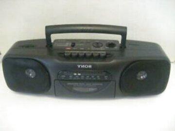 radio cassette portatil de segunda mano