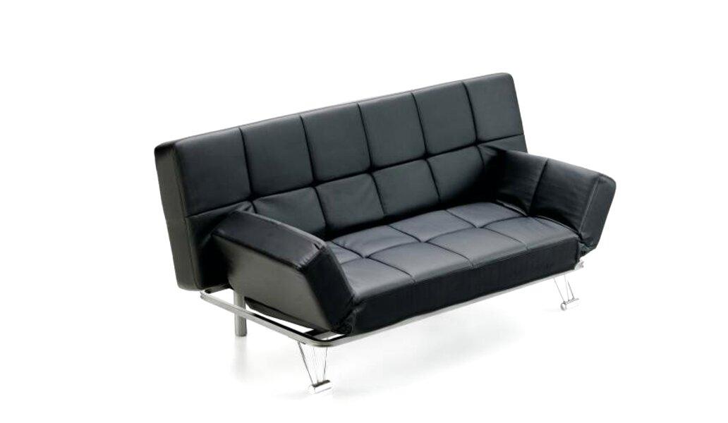 sofa cama polipiel de segunda mano