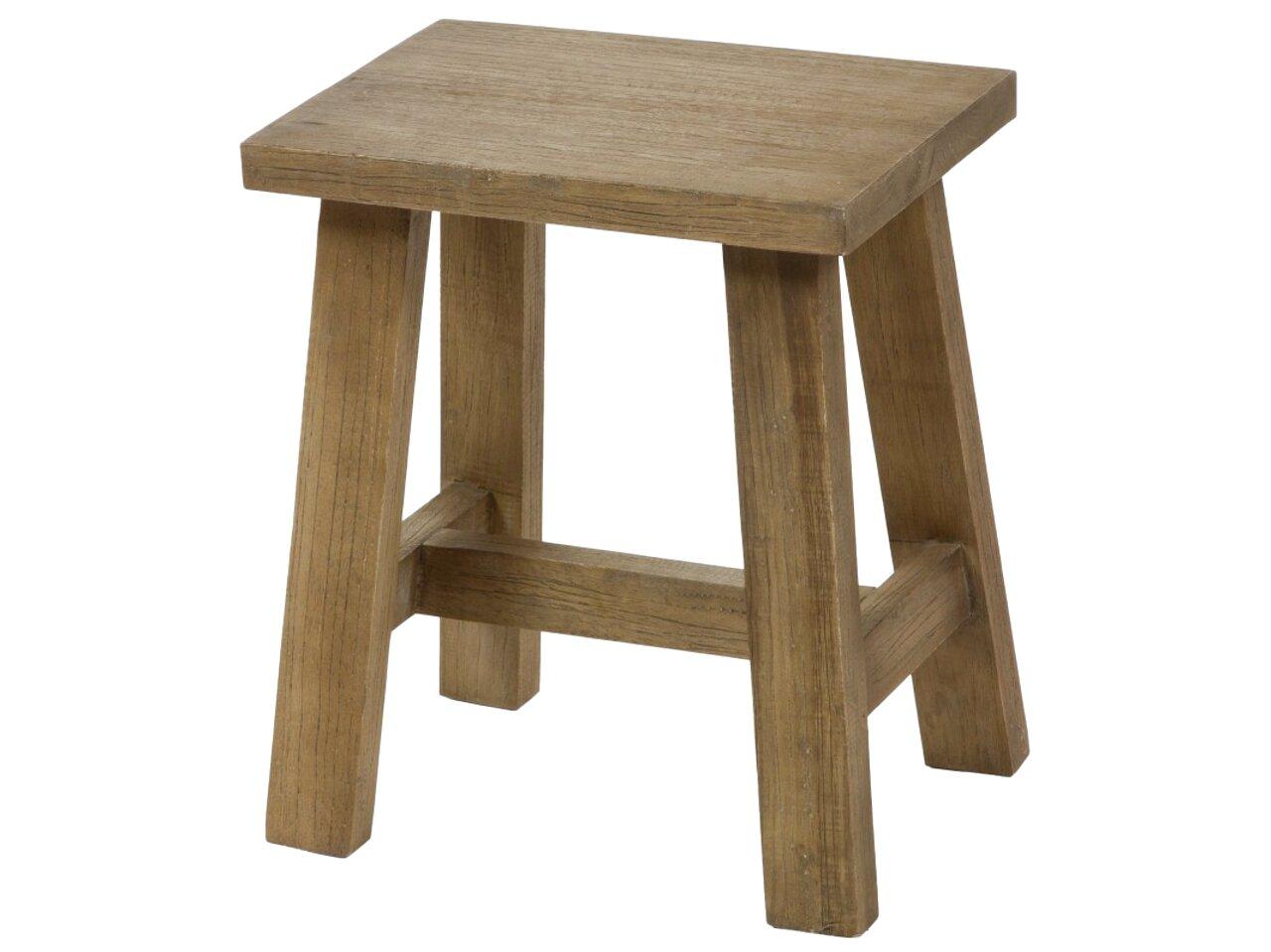 taburete madera de segunda mano